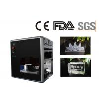 China Mobile Photo Crystal Gifts Mini Laser Engraver Single Phase Powered on sale