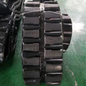 China 86 Links Excavator Rubber Tracks , Less Vibration Kubota Replacement Tracks wholesale