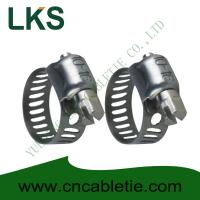 China Small American Type Hose Clamps wholesale