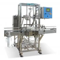 China Pneumatic Auto Bottle Filling Machine With PLC Control High Precision wholesale
