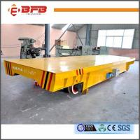 China High Performance Heavy Material Handling Equipment , 16T Motorized Rail Cart on sale