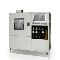 China Solid Material Textile Testing Instruments Optical 170Kpa Smoke Density Meter on sale