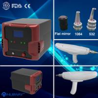 China Portable Q Switched ND YAG Laser for Tattoo Removal;Exogenous Pigment Removal wholesale