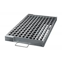 China Stock Stormwater Galvanised Drainage Grates Flatted Smooth Surface wholesale