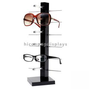 Countertop Colorful Waterproof Acrylic / Wood Sunglasses Display Rack