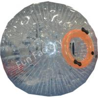 China Giant Glass Ball Inflatable Zorb Ball Soccer , Transparent Color wholesale
