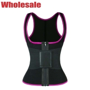 China Magical Velcro Workout Waist Trainer Vest Compression Sweat Vest wholesale