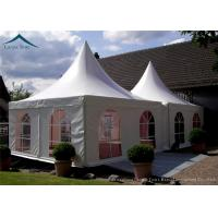 China Portable But Durable Pyramid Pagoda Tents / Aluminium Frame/ PVC Fabric Covers wholesale