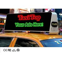 China Mobile Outdoor Taxi Top Advertising LED Billboard Display With High Brightness Waterproof wholesale
