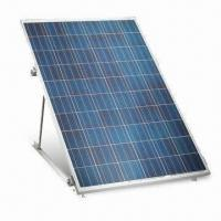 China High Efficiency PolyCrystalline Solar PV Panel with 3.2mm High-transparent Low-iron Toughened Glass wholesale
