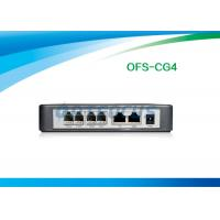 China RJ45 FXS Voip Gateway 2 Port Ethernet Router CDR Wall Mountable Volume Control wholesale