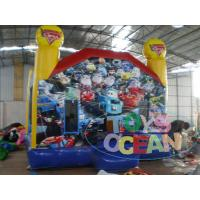 China 0.55m PVC Princess Inflatable Bounce House Customized Size With Free Repair Kit wholesale