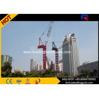 China 162M Max Height Mini Luffing Jib Tower Crane Load Capacity 10T wholesale