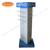 China Powder Coated Welded Revolving Jewellery Stand Display Spinner on sale