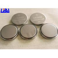 China Eco - Friendly Audio Equipment CR2032 Lithium Battery Button Cell 3V 240mAh wholesale
