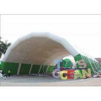 China Outdoor Huge Inflatable Exhibition Tents Tunnel WaterProof For Wedding Event CE wholesale