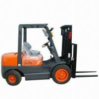 China Gasoline Forklift with Loading Capacity of 3T, Power/Manual Shift wholesale