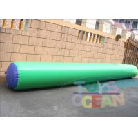 China Popular 7x0.71m Inflatable Water Game Inflatable Buoy EN15649 Certificate wholesale