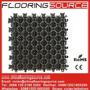 China Interlock PVC Tiles Floor Mat PVC Flooring Mat for Entrance or Wet Areas Stop dirt Drain Water Mat wholesale
