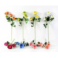 China 55CM CAMELLIA SPRAY*5 GS-1450063 Artificial flower factory yeahflower on sale