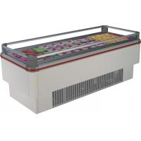 Buy cheap Best quality 580L supermarket Island display deep freezer from wholesalers