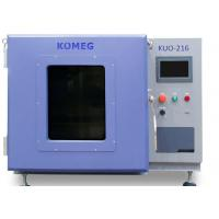 Buy cheap Bench Top Small Lab Drying Oven Electric Chemistry Hot Air Circulating Fan from wholesalers
