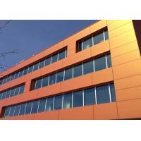 China Hot-selling Pink / Blue / Red / Orange Color Aluminum Composite Wall Panels wholesale