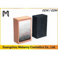 China Mild Organic Handmade Soap Bar Black Bamboo Charcoal Cleans Without Drying wholesale