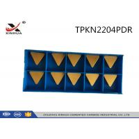 China Indexable Milling Insert Triangular Insert TPKN2204PDR With Virgin Material wholesale