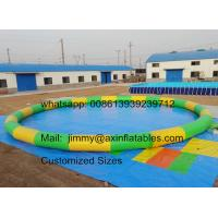Factory Price Customized 0 9mm Pvc Tarpaulin Commercial Water Games Inflatable Swimming Pool For