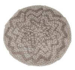 China New arrival Metallic crochet-knit blend beret Hat on sale