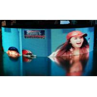 China P10 Indoor Full Color LED Screen 1500 cd / ㎡ , Curve LED Display For Advertising wholesale
