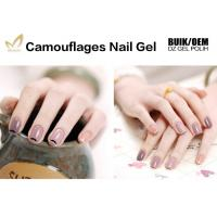 China 1kg Bulk Colorful Camouflage Nail Gel OEM / ODM Nail Builder Gel For Salon wholesale