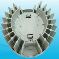 China Drilling Aluminum Injection Molding Lamp Heatsink with  Solidwork, CAXA UG drawings wholesale