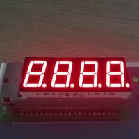 China 0.56 Inch 4 Digit 7 Segment LED Display For Instrumnet Panel Indicator wholesale