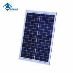 China 25W Mono Silicon Solar Panel / Portable Polycrystalline Silicon Solar Panel wholesale