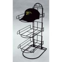 China 3 tier sign hold wire display racks / shelving  for show sport caps countertop display wholesale