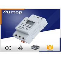 China 1 Changeover Programmable Digital Timer Switch 3 Years Lithium Battery wholesale
