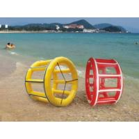 China Inflatable Water games / inflatable water roller air tight pvc tarpaulin wholesale