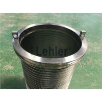 China WWE-178 Wedge Wire Filter Elements Long Slit High Flow Rate ISO Certification wholesale