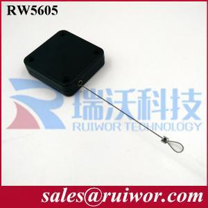 China RUIWOR Square Shaped RW5600 Sereis Multi-purpose Anti-Theft Pull Box Retracting force MAX 2.5LB/ Cable length MAX 400CM wholesale
