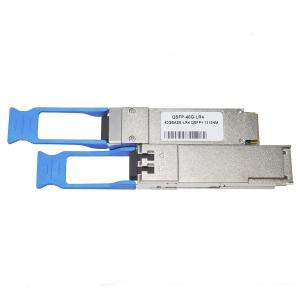 China Cisco 40GBASE LR4 10KM LC DOM Fiber Optic Transceiver on sale