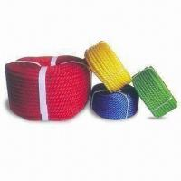 China PE Rope with 3/4/6/8 Strands Structure, Various Colors are Available wholesale