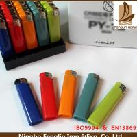 China Custom Blue / Pink / Green Abs Flame Cigarette Gas Lighter 45.5x24.5x30cm wholesale