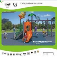 China Outdoor Playground Equipment Seesaw and Swings Toys wholesale