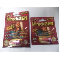 Buy cheap Miraclezen Sex Enhancement Pills Triple Maximum Sex Capsules For Big And Thick , Long Lasting from wholesalers