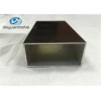 China Champagne Anodized Aluminium Extrusion  Profiles With Maximum 6.8 Meters wholesale