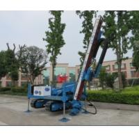 China Anchor Drilling Rig Foundation Pile Drilling Machine For Jet Grouting / Water Well wholesale