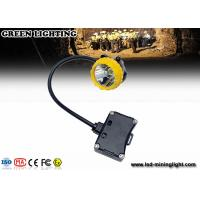 Buy cheap Explosion-proof PC rechargeable LED headlamp , 208lum 15000lux safety miners lights from wholesalers