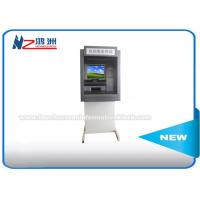 """China 17"""" Outdoor Advanced Internet ATM Kiosk With Cash Dispenser Free Standing wholesale"""